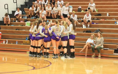 Girls Volleyball gets first conference win