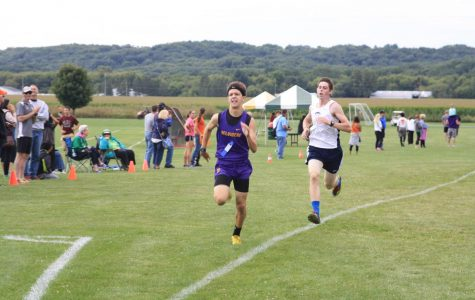 Boys Cross Country finish seventh at Sterling