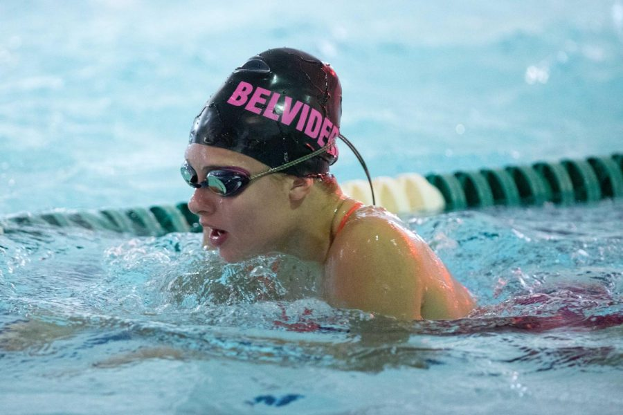 Girls Swimming Finishes Season Strong