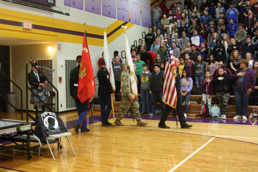 BHS honors veterans in impressive fashion