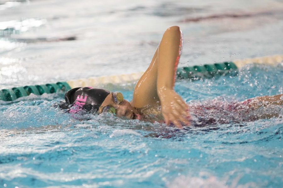 BHS co-op swimming team starts off their season strong