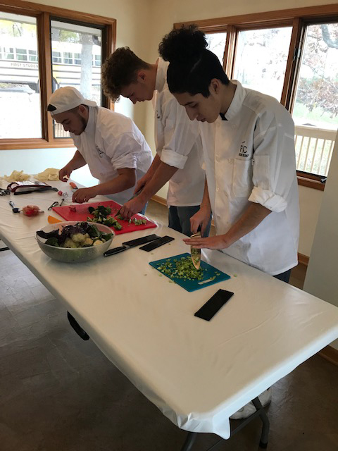 Commercial foods class goes to Top Chef