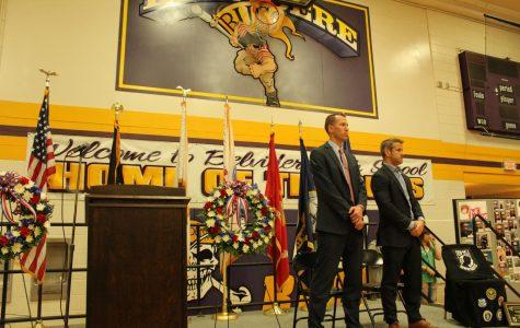 BHS honors veterans