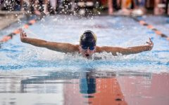 Men's Swimming and Diving continues strong season