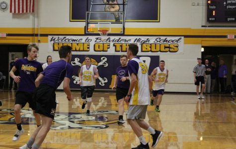 BHS faculty defeats the students
