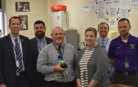 Mr. Edwards wins Golden Apple Award