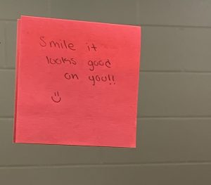 Unknown Girl spreads positivity