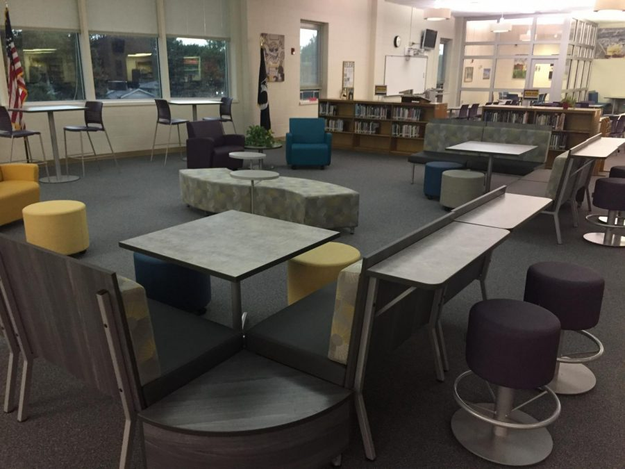 BHS new library gains attention