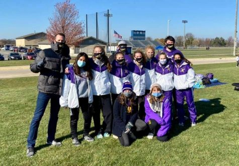 Belvidere XC races at NIC-10 conference and advances to sectionals during pandemic