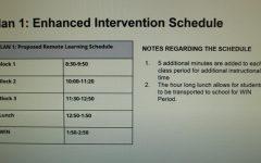 BHS plans new online school schedule