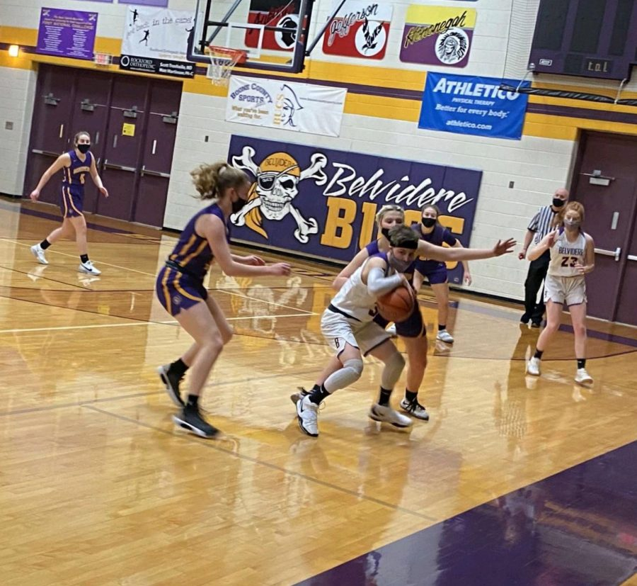 Girls Basketball finally returns to play