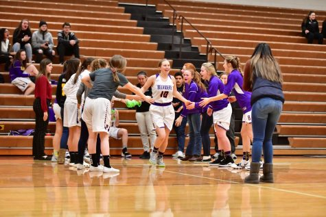Girls Basketball Improves Their Game
