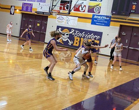 Girls Basketball Runs the Court